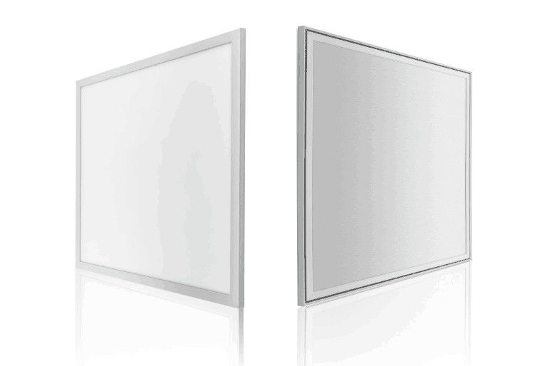 Aluminum Housing Square 600x600 LED Ceiling Panel 36 Watts IP40 120lm/W