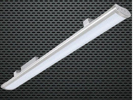 5 Years Warranty Low Bay Warehouse Lighting 2 Ft / 80 Watts 10400-11200lm
